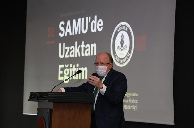 """Rektör Aydın: """"Pandeminin nesillerimizi heba etmesine izin vermeyelim"""" SAMÜ'de 2020-2021 Eğitim-Öğretim Yılı Güz Dönemi Faaliyet Toplantısı"""