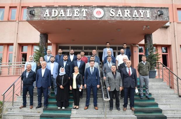 AK Parti Merkez İlçe Başkanı Çetinkaya mazbatasını aldı