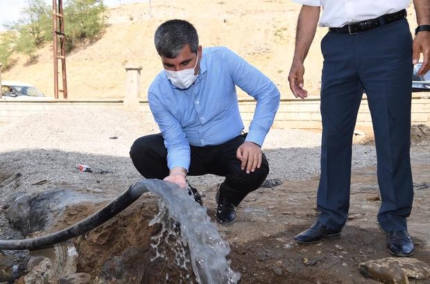 Muş'ta içme suyu sorununa sondajlı çözüm