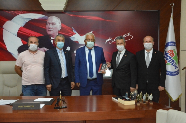 Saadet Partisi'nden Başkan Posbıyık'a ziyaret
