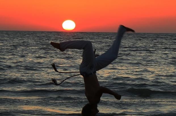 İzmir'de güneşle dans