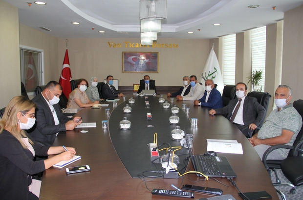 VANTB ve Van YYÜ arasında iş birliği toplantısı yapıldı