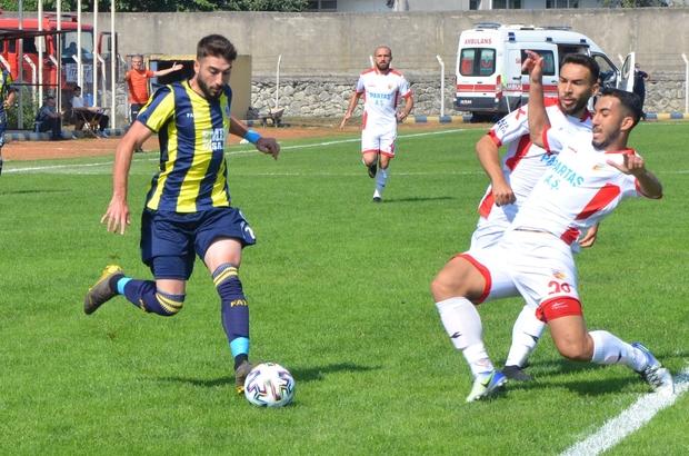 TFF 3. Lig: Fatsa Belediyespor: 2 - Kızılcabölükspor: 0
