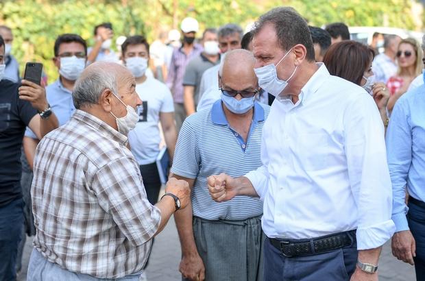 """Başkan Seçer, kırsal mahalleleri ziyaret etti Mersin Büyükşehir Belediye Başkanı Vahap Seçer: """"Görevini yapmayan bir belediye başkanı köyleri bu kadar rahat dolaşmaz"""""""
