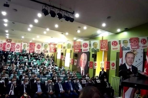 Naim Karataş, yeniden MHP Erzurum İl Başkanı seçildi