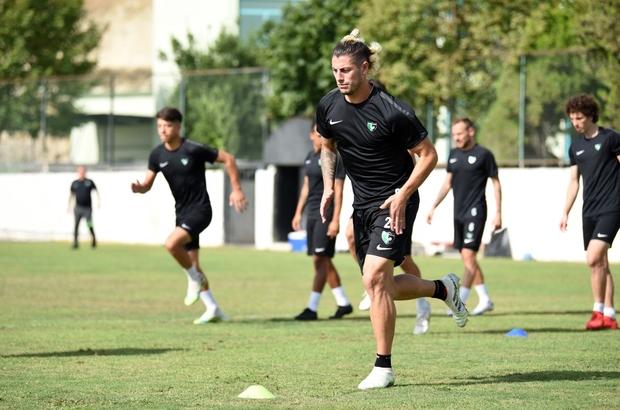 Denizlispor, Antalyaspor karşılaması hazırlıklarını tamamladı Yeşil siyahlı kadroda  Sacko ve Fede Varel yer almayacak