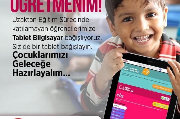 """Samsun'da """"Eğitime Bir Tablet Katkın Olsun Projesi"""" hayata geçirildi"""