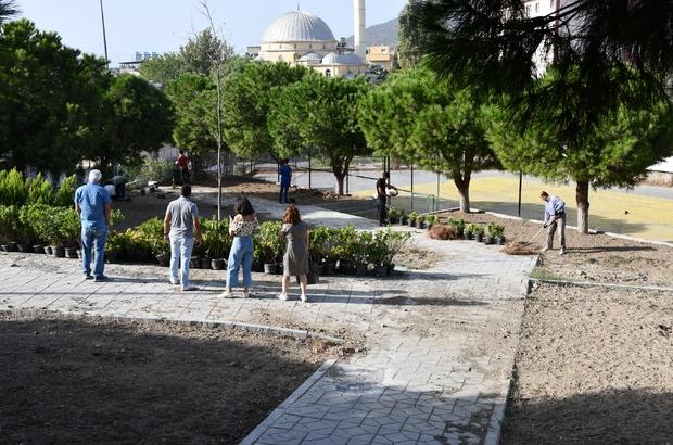 Söke Belediyesi park yapımında tempo arttırdı
