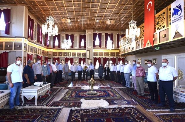 Başkan Çerçi AK Parti Yunusemre yeni ilçe yönetimini ağırladı