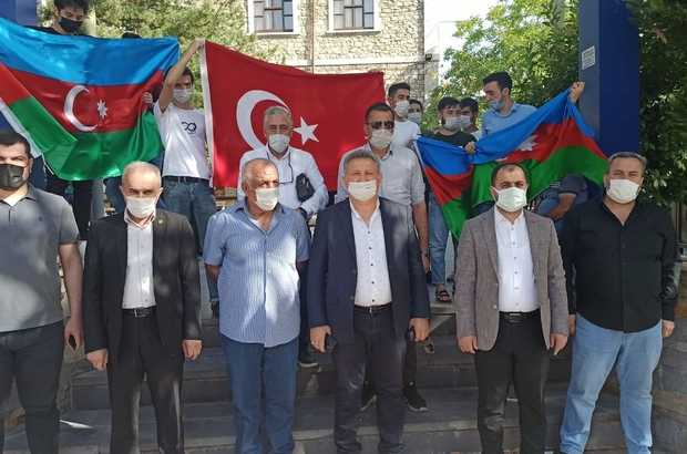 Malatya'da Azerbaycan'a destek