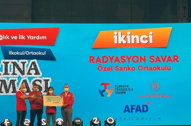 Teknofest 2020 SANKO Okulları'nın projesi Türkiye ikincisi oldu