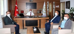 AK Parti İlçe Başkanı Nalbant'tan İl Müftüsü Erhun'a ziyaret