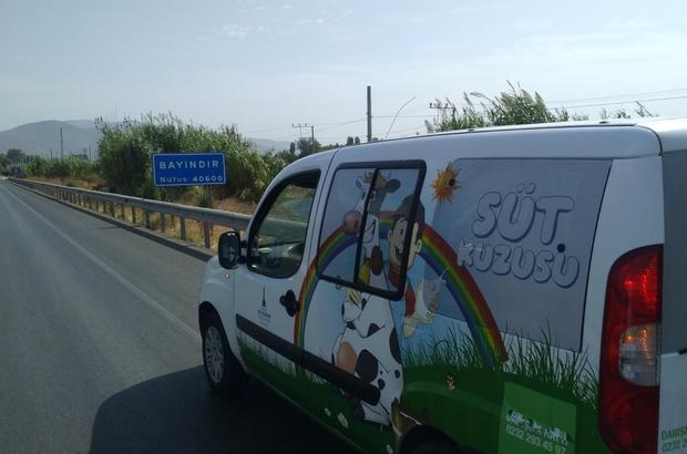 Süt Kuzusu projesi büyüyor Büyükşehir, süt dağıttığı ilçe sayısını 25'e çıkarttı