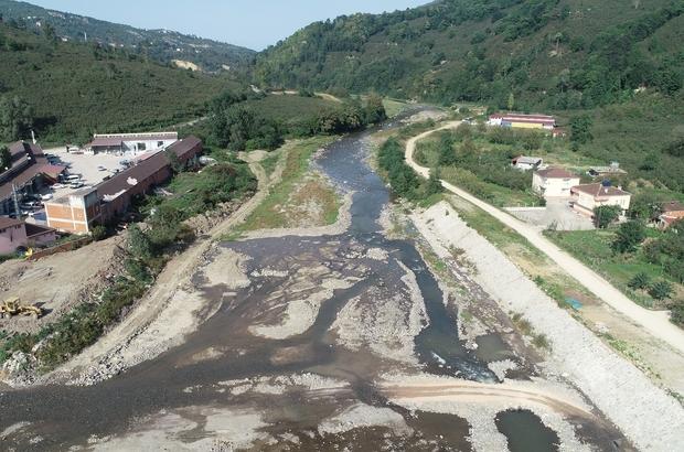 Ordu Büyükşehir'den gölet atağı