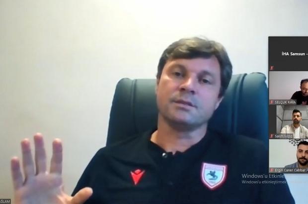 """Ertuğrul Sağlam: """"Çok bariz hakem hataları var"""" Samsunspor Teknik Direktörü Ertuğrul Sağlam: """"TFF 1. Lig'de kesinlikle VAR sisteminin uygulanmaya başlaması zorunluluğu ortaya çıkıyor"""" """"Covid'den en fazla sıkıntıyı çeken takımlardan biri de biz olduk"""""""