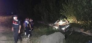 Ceyhan'da trafik kazası: 2 ölü, 1 yaralı