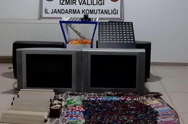 İzmir'de kumar operasyonunda 123 kişiye 171 bin lira ceza
