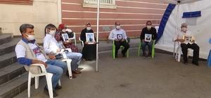 HDP önündeki ailelerin evlat nöbeti 395'inci gününde