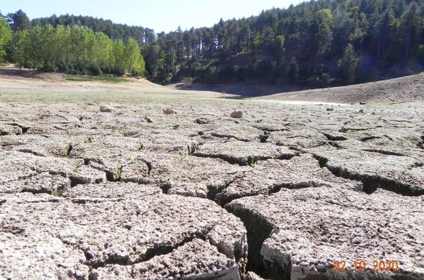 Uludağ'ın göletleri kuruyor