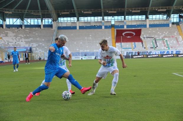 Süper Lig: BB Erzurumspor: 0 - Çaykur Rizespor: 0 (İlk yarı)