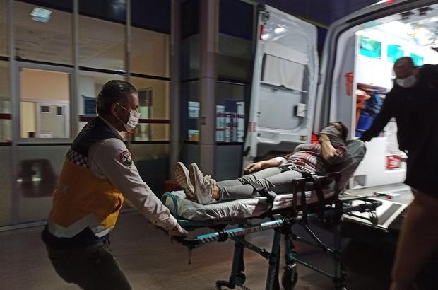 İznik'te iki otomobil çarpıştı, bebek koltuğu hayat kurtardı