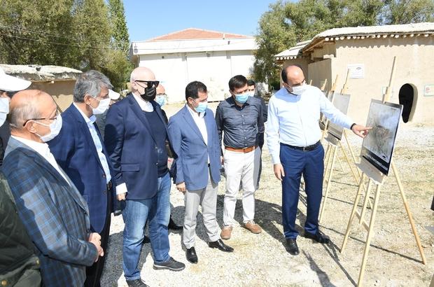 Kültür Bakan Yardımcısı Alpaslan, Konya'nın tarihi alanlarını inceledi