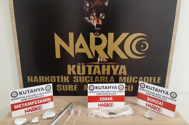 Kütahya'daki uyuşturucu operasyonunda 7 kişi gözaltına alındı