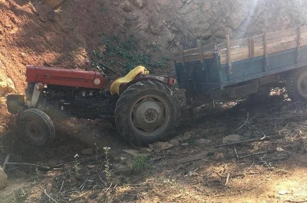 Üzerinden traktör geçen şahıs hayatını kaybetti