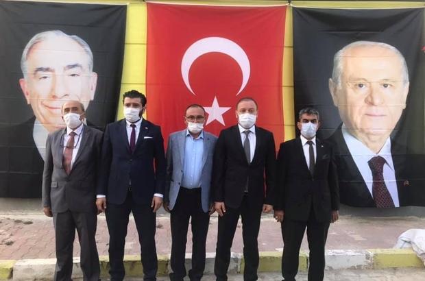 Çavdarhisar MHP'de yeni başkan Halil İbrahim Topbaş