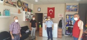 Buharkent'te Korona virüs denetimi