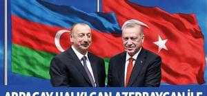 Arpaçay Belediyesi'nden Azerbaycan'a destek