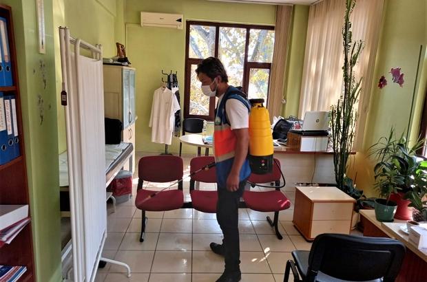 Virüs yok olana kadar dezenfeksiyona devam Osmangazi Belediyesi'nden dezenfeksiyon ve temizlik seferberliği