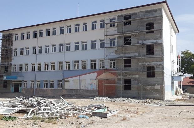 Isparta'da depreme dayanıksız okullarda güçlendirme çalışması yapılıyor Okullardaki çalışmalar için 23 Milyon TL kaynak ayrıldı