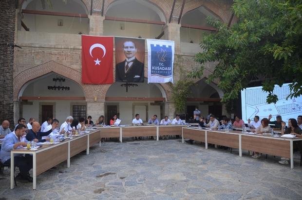 Kuşadası'ndan Erciş'e yardım eli Kuşadası Belediye Meclisi Ekim ayı olağan toplantısı yapıldı