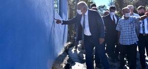 Vali Ustaoğlu ve Başkan Zorluoğlu Arsin ilçesinde toprak kaymalarının yaşandığı Çubuklu mahallesinde incelemede bulundular