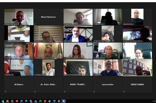 Zeytin ve Zeytinyağı sektör toplantısı yapıldı