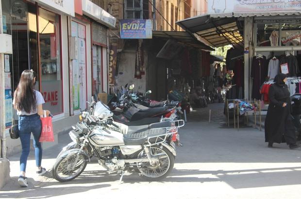 Motosiklet parkları sorun oluyor
