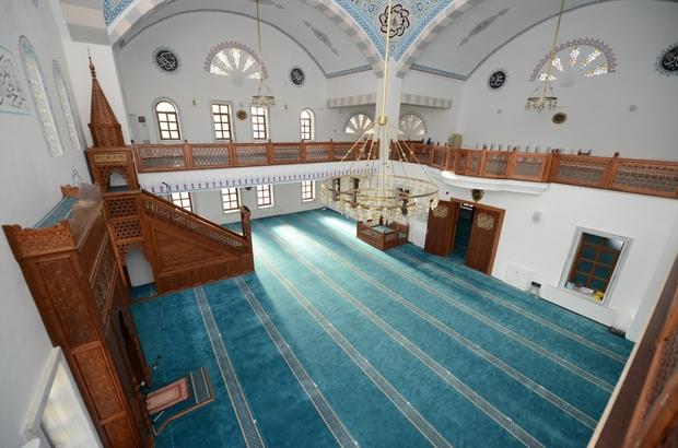 Kanuni Sultan Süleyman Camii ibadete açıldı