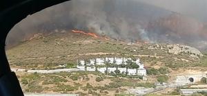 Aydıncık'ta orman yangını çıktı Mersin'in Aydıncık ilçesinde çıkan orman yangını, Bozyazı ilçesinin yerleşim yerlerine kadar geldi Hem havadan hem karadan ekipler, orman yangınını kontrol altına almaya çalışıyor