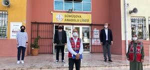 Gümüşova okulları denetimden geçti