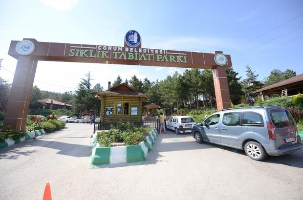 Sıklık tabiat parkı hizmete açıldı
