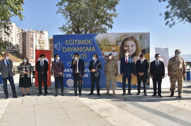 Şırnaklı öğrenciler için tablet bağışı kampanyası başlatıldı
