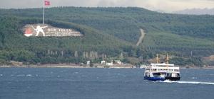 Kuzey Ege'de şiddetli fırtına uyarısı Bazı feribot seferleri iptal edildi