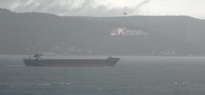 Çanakkale Boğazı sis nedeniyle tek yönlü gemi trafiğine kapatıldı