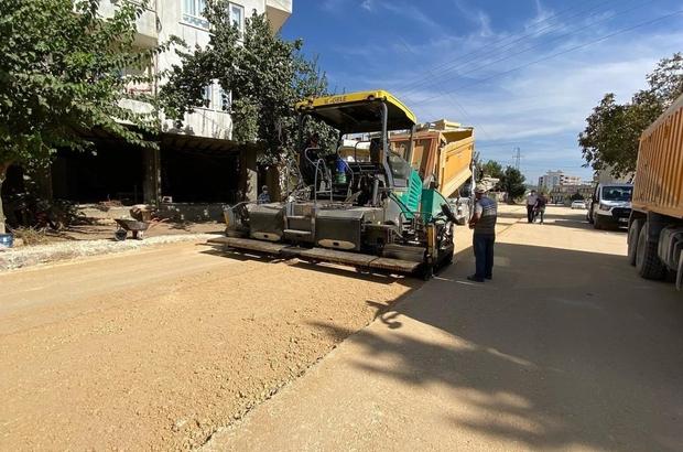 Kemalpaşa Caddesinde asfalt öncesi hazırlık çalışması