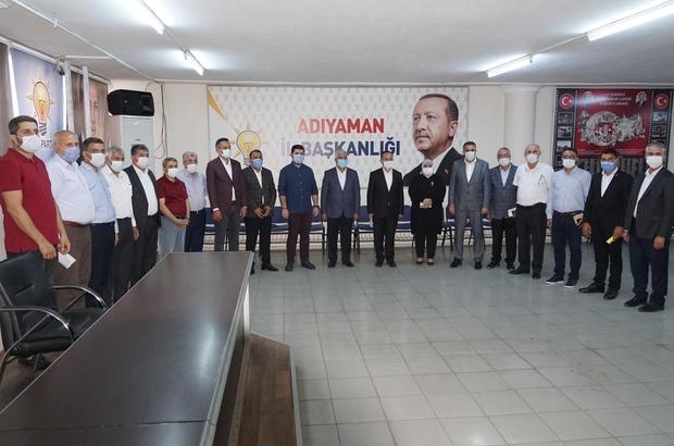 AK Partide ilçe kongreleri sonrası ilk toplantı