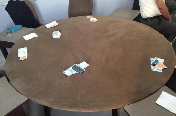 Kumar oynanan kahvehaneye baskın: 57 bin 500 ceza