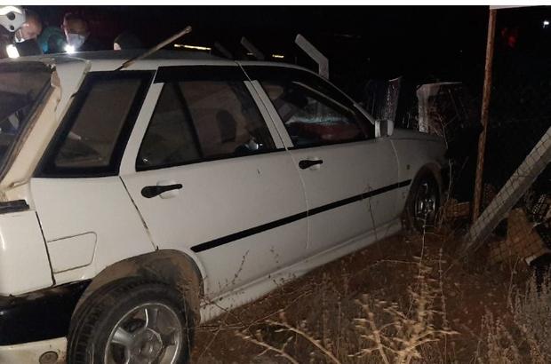 Isparta'da otomobil TIR'a çarptı: 1 ölü