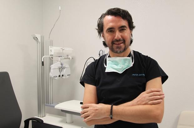 """Prof. Dr. Kamış: """"Pandemi sürecinde kontakt lens kullanımını çok önermiyoruz"""""""