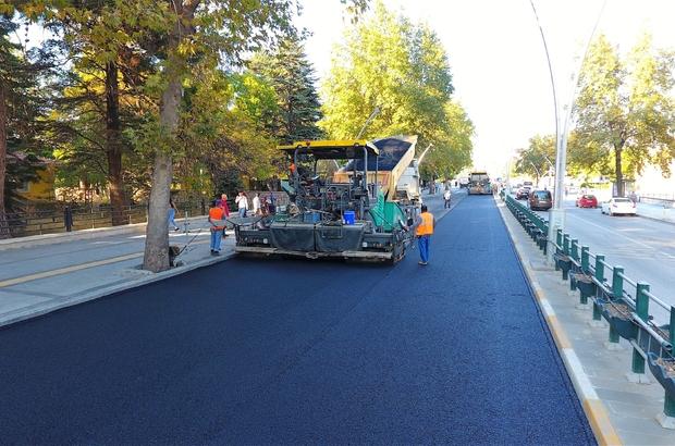 Tokat'ta 24 yıllık asfalt yol yenileniyor
